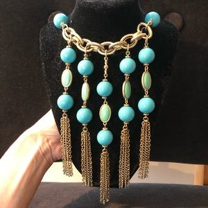 Banana Republic Turquoise Statement Necklace